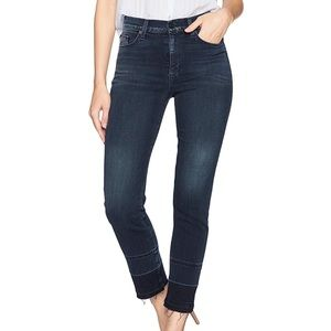 Hudson $255 High Rise Women's Ankle Straight Jeans